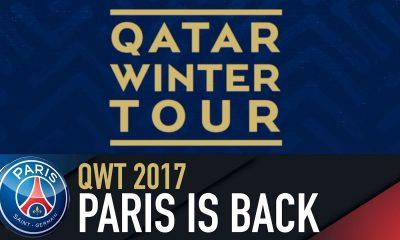 Le PSG annonce son programme pendant le Qatar Winter Tour, qui commence après PSG/Caen