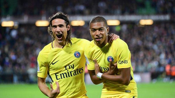 Ligue 1 - Cavani et Mbappé, récompensés par France Football pour l'année 2017