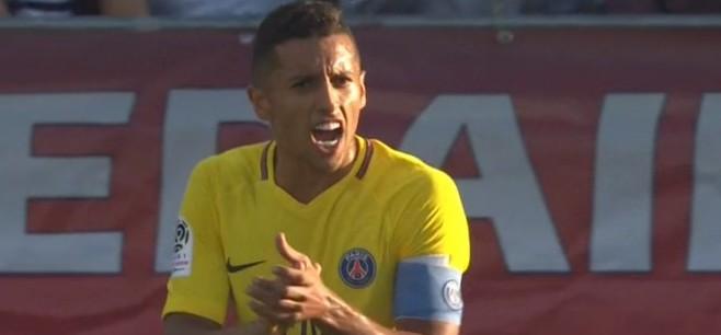 Marquinhos Je suis fier d'avoir eu la possibilité d'être capitaine du PSG