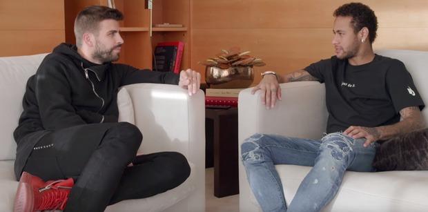 """Neymar """"Mbappé? C'est un type bien, il travaille énormément"""""""