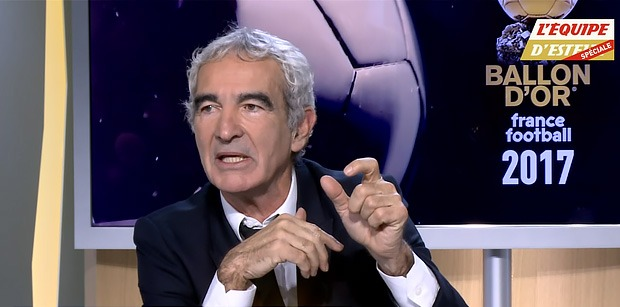 Cavani en dehors du top 10 du Ballon d'or 2017, Domenech ne comprends pas
