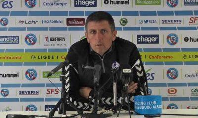 """Strasbourg/PSG - Laurey """"On a un peu de réussite...les joueurs se sont battus comme des lions"""""""