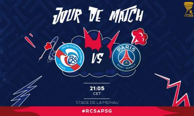Strasbourg/PSG - Les équipes officielles : Paris en 4-2-3-1, Mbappé sur le banc
