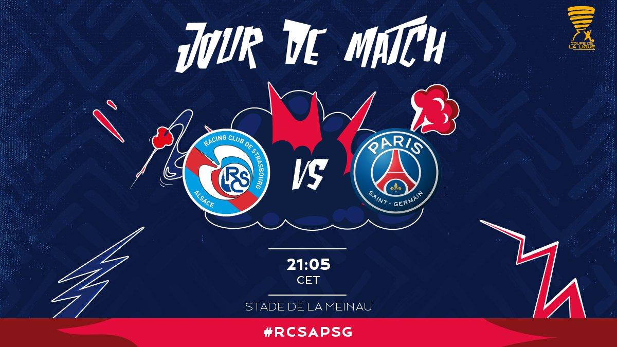 StrasbourgPSG - Les équipes officielles Paris en 4-2-3-1, Mbappé sur le banc.jpg