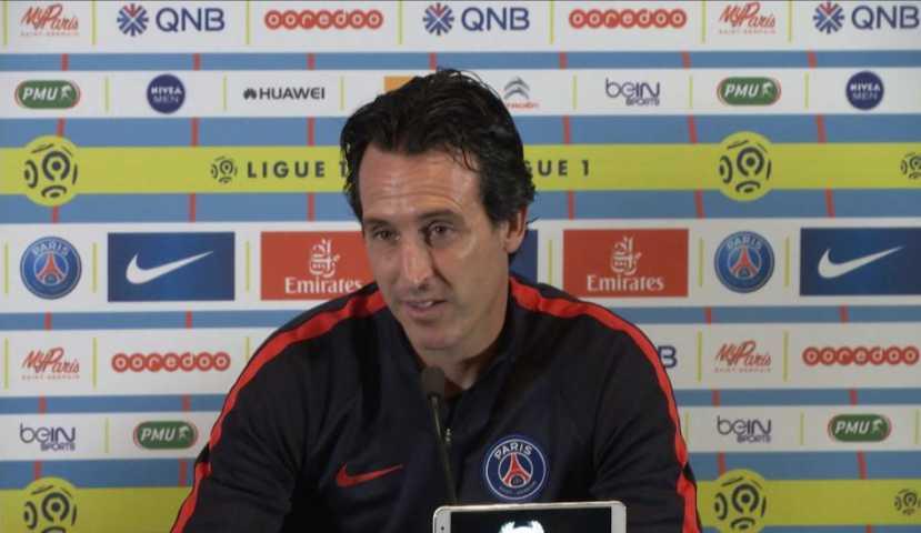 """Amiens/PSG - Unai Emery """"Thiago Motta va travailler pour soigner sa blessure. Les autres sont bien"""""""