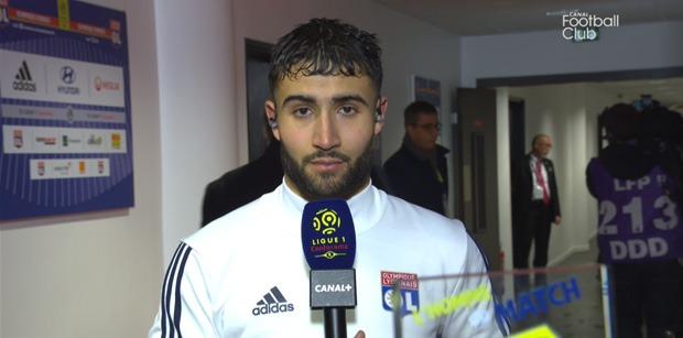 """OL/PSG - Fekir """"Au départ je voulais centrer...On a fait un bon match"""""""