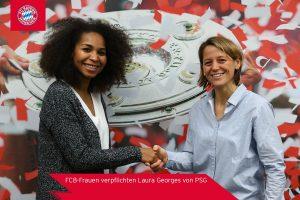 Féminines - C'est officiel, Laura Georges a signé au Bayern Munich !