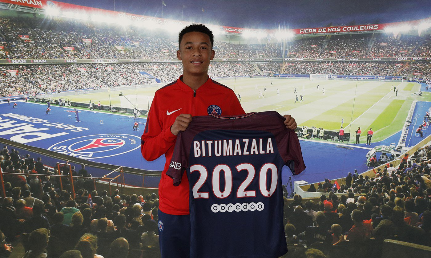 """Le PSG annonce la signature de Nathan Bitumazala en aspirant """"Je suis très fier"""""""