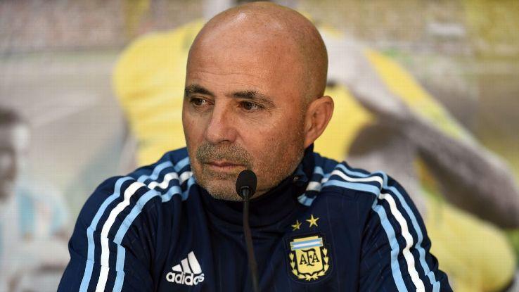 Jorge Sampaoli, le sélectionneur argentin, va faire un tour d'Europe dont Paris.