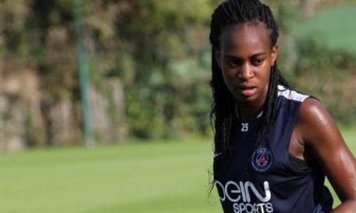 PSG/OL - Marie-Antoinette Katoto, émue, exprime sa fierté après la victoire