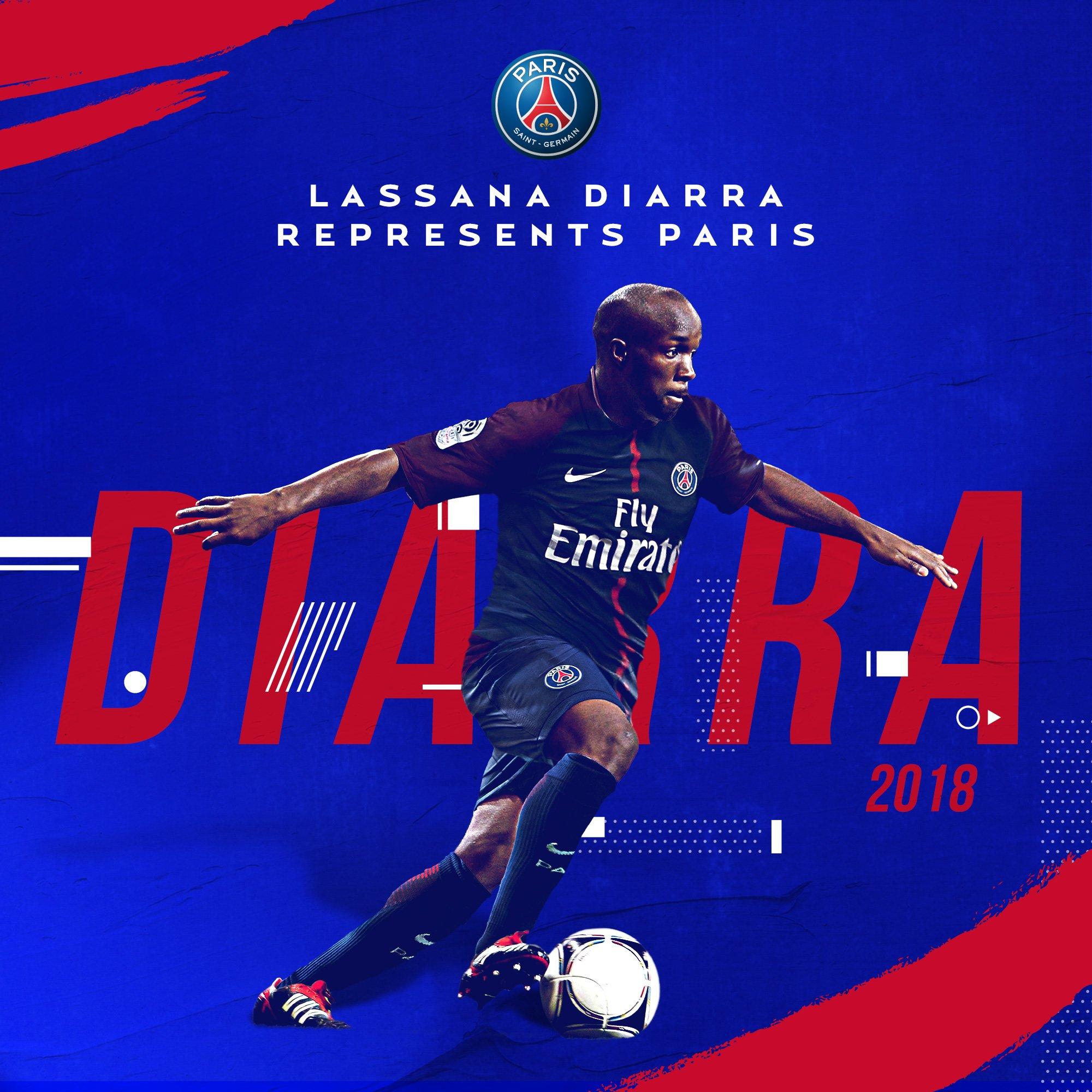 Lassana Diarra a signé un contrat jusqu'en juin 2019 au PSG, c'est officiel !