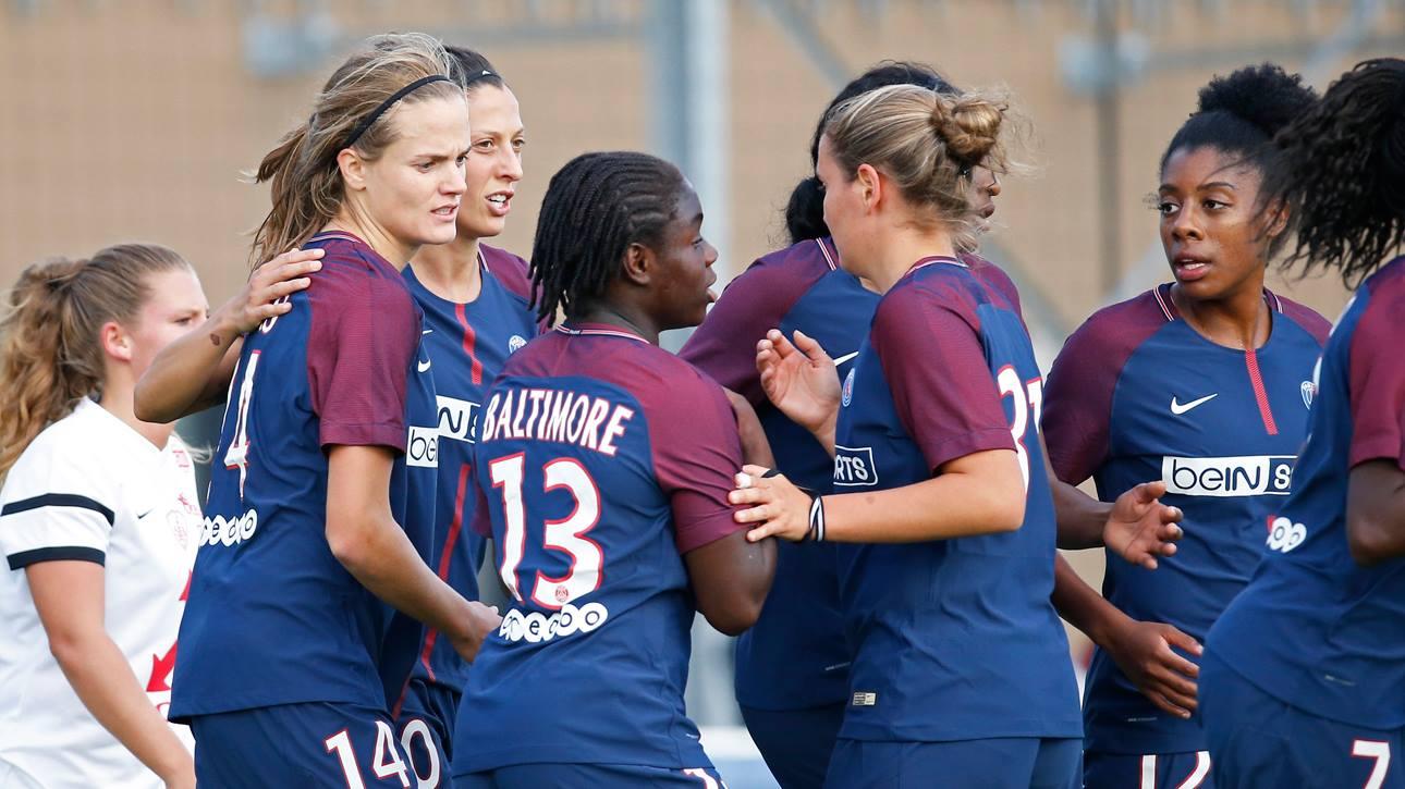 L'équipe féminine du PSG s'est imposé face au LOSC en 32e de finale de Coupe de France !