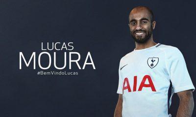 Lucas Moura quitte le PSG et signe à Tottenham, c'est officiel !