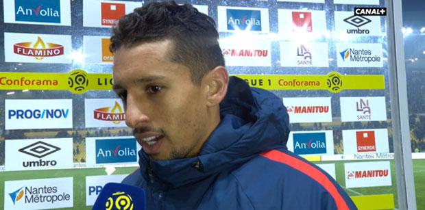 """Nantes/PSG - Marquinhos """"C'est 3 points très importants et difficiles obtenus à Nantes"""""""