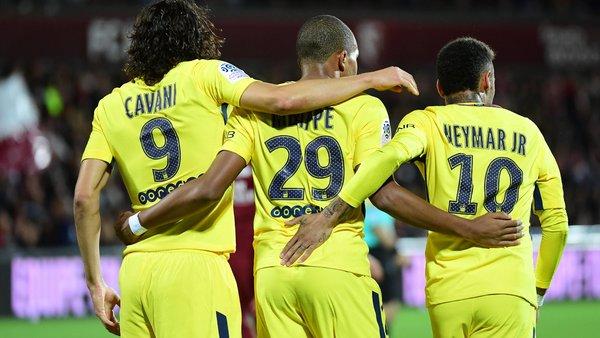 Neymar Nous nous entendons très bien avec Cavani et Mbappé...Nous espérons gagner la LDC