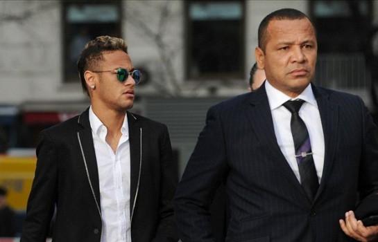 Neymar reçoit un message de soutien de la part de son père sur les réseaux sociaux