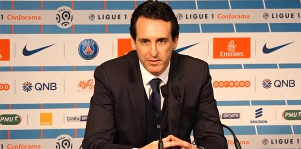 Unai Emery conférence de presse PSG/Montpellier