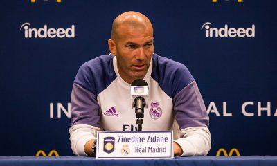 """Real Madrid/PSG - Zidane """"Il faut remotiver les troupes"""""""