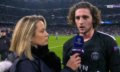 """Real/PSG - Rabiot """"C'est bien d'en mettre 8 à Dijon, mais c'est dans ces matchs-là qu'il faut être décisif"""""""