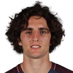 Adrien Rabiot milieu de terrain PSG