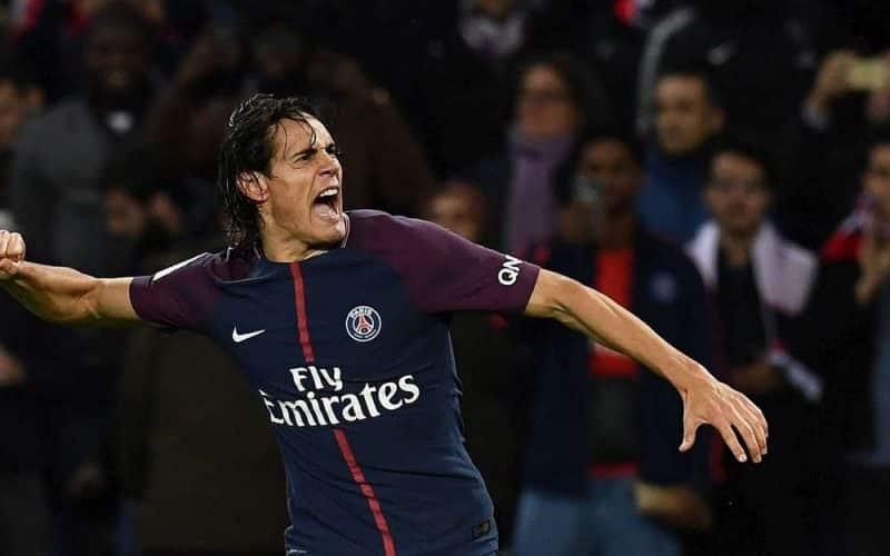 Ligue 1 - Les 2 buts de Cavani contre Strasbourg dans le top 5 de la 26e journée