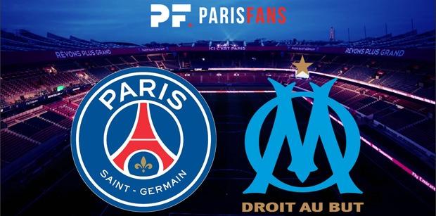 PSG/OM - Le groupe parisien : Neymar présent, Verratti et Berchiche absents