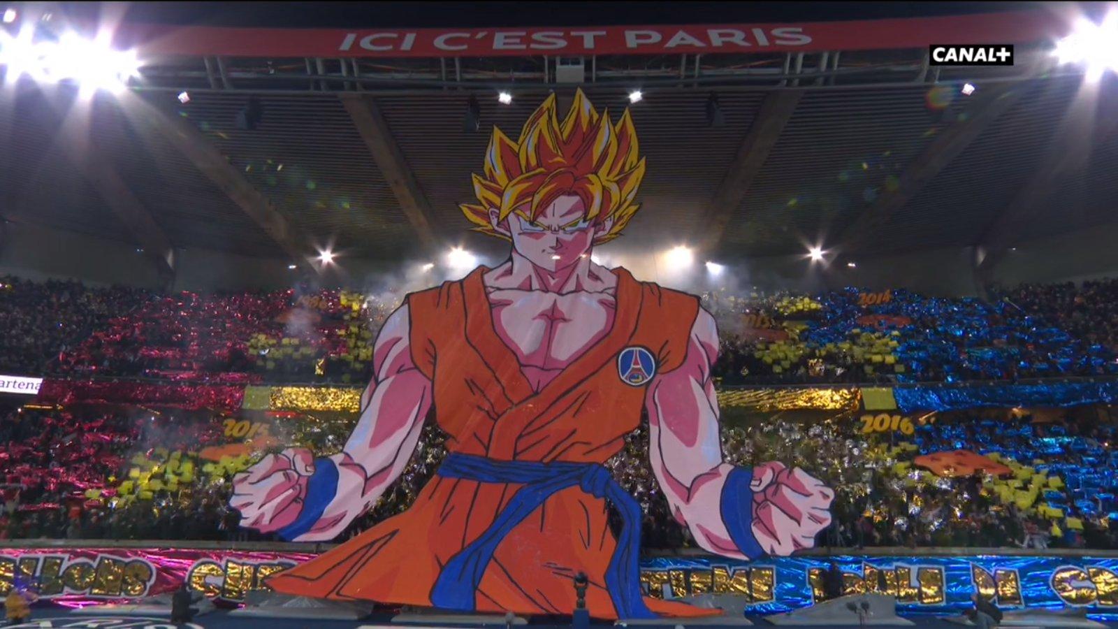 """PSG/OM - Le CUP concernant son tifo Sangoku """"Le PSG adore, il en redemande"""""""