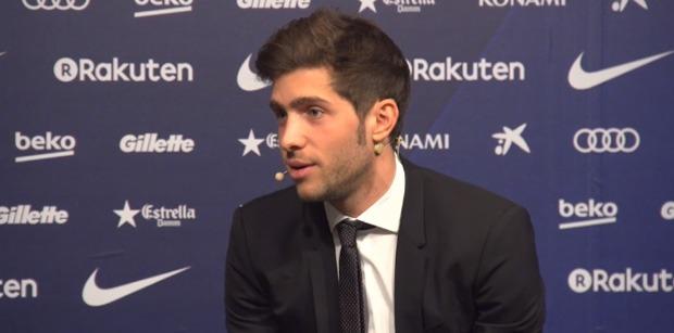 Sergi Roberto conférence presse