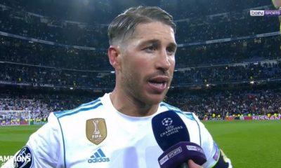 """Real/PSG - Sergio Ramos """"On a fait un bon pas, mais il reste du travail"""""""