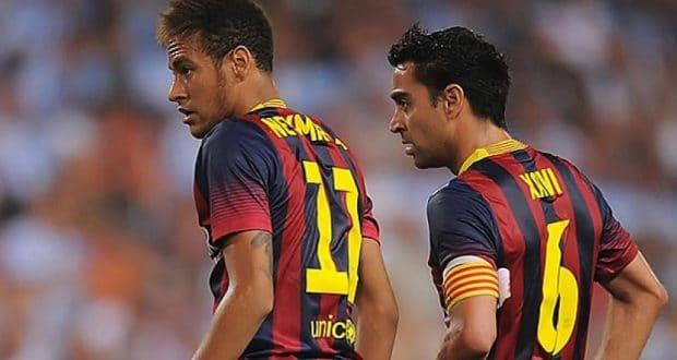 Xavi Neymar Ce genre de comportement rend les grands joueurs négligeables