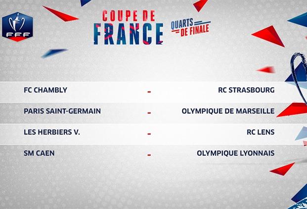 Coupe de France - Le choc PSG/OM est fixé, avec diffusion sur une chaîne publique
