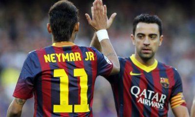 Xavi dément avoir critiqué Neymar pour son comportement