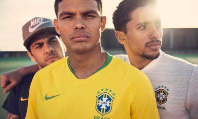 Les Brésiliens du PSG très présents dans la présentation du nouveau maillot de la Seleçao