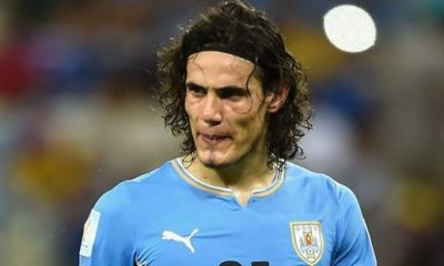 Edinson Cavani convoqué avec l'Uruguay pour la China Cup en mars