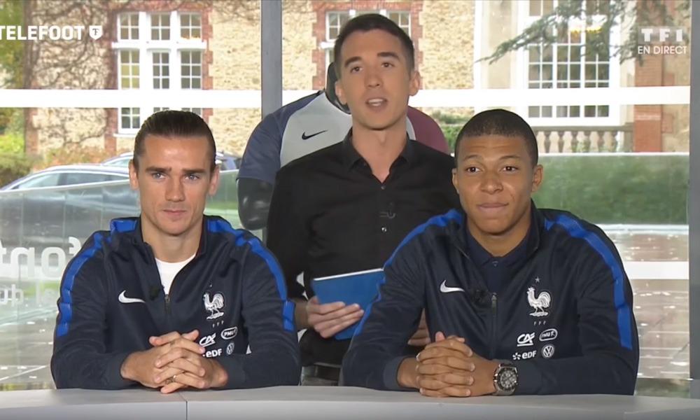 Griezmann + Mbappé Equipe De France