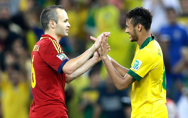 Iniesta Voir Neymar signer au Real Madrid ne me surprendrait pas