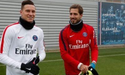 Les équipes des matchs internationaux du PSG Brésiliens et Allemands s'affrontent