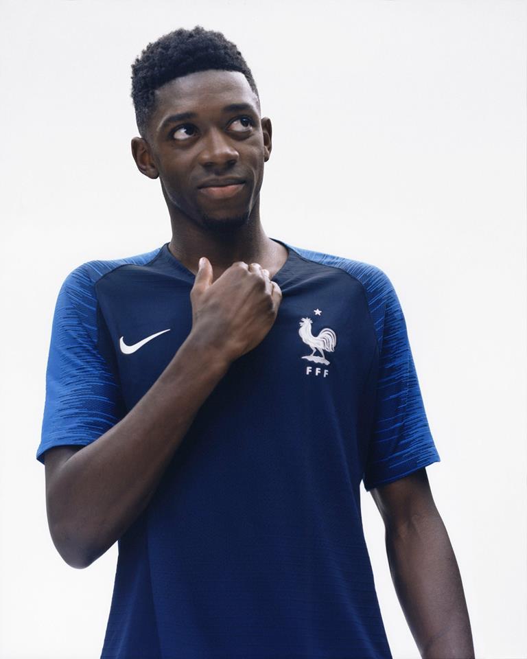 Les nouveaux maillots de l'Equipe de France dévoilés !