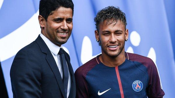 Nasser Al-Khelaïfi Neymar est heureux, très motivé et enthousiastes pour revenir le plus vite possible