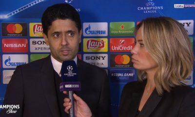"""PSG/Real Madrid - Al-Khelaïfi """"Le carton rouge de Marco Verratti a tué le match et ça a été difficile"""""""