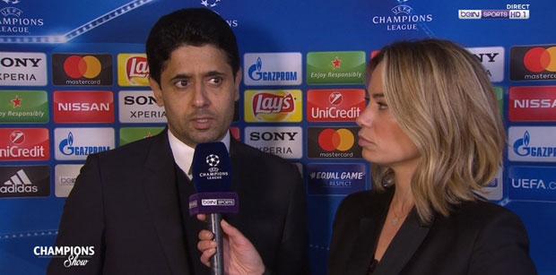 Nasser Al-Khelaifi réaction PSG-Real