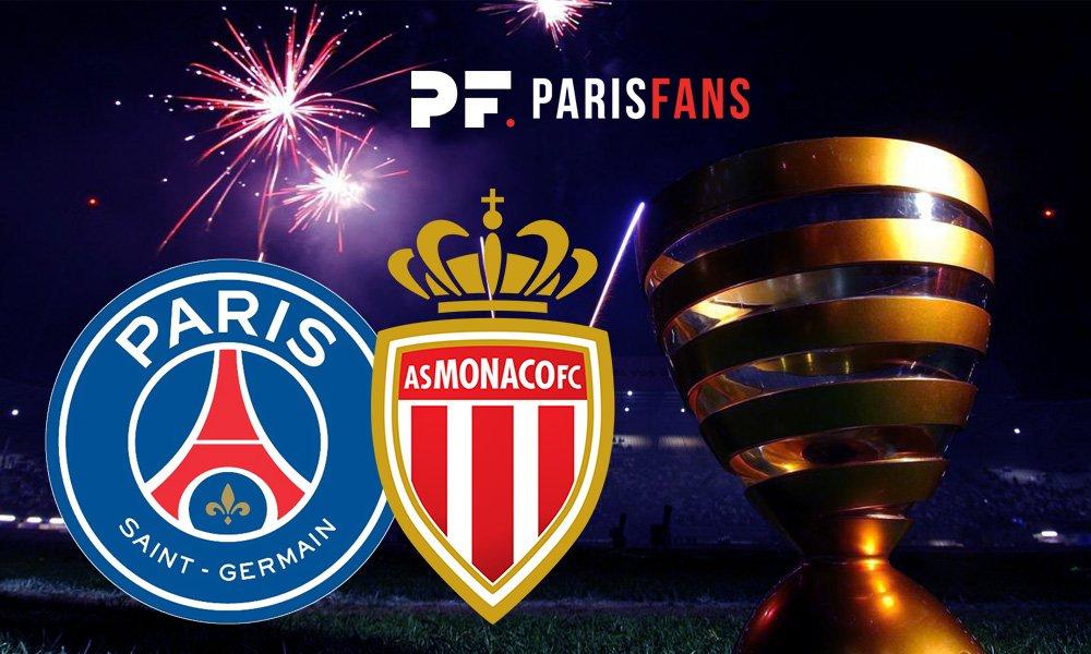 PSG/AS Monaco - Les équipes officielles