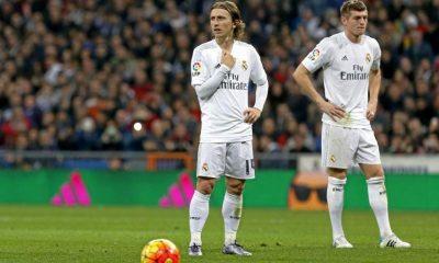 PSG/Real Madrid - Toni Kroos et Luka Modric n'ont toujours pas repris l'entraînement.