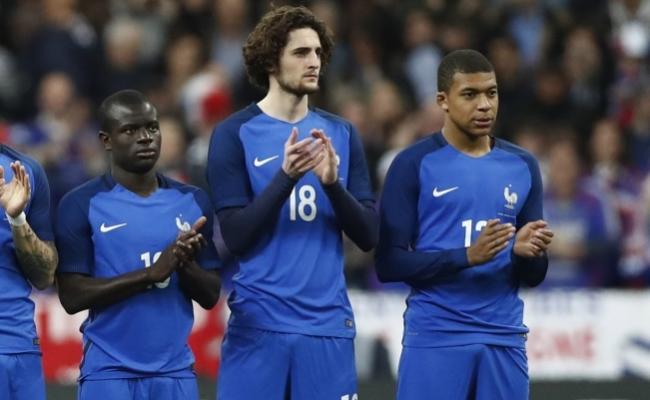 RussieFrance - Mbappé et Adrien Rabiot titulaires dans un 4-3-3