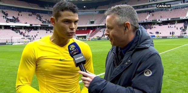 "Nice/PSG - Thiago Silva ""Il faut toujors garder cette mentalité...Neymar va rester"""