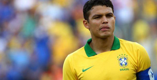 Thiago Silva devrait encore être titulaire pour Allemagne/Brésil