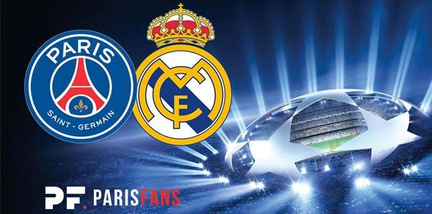 PSG/Real Madrid - Les équipes officielles :