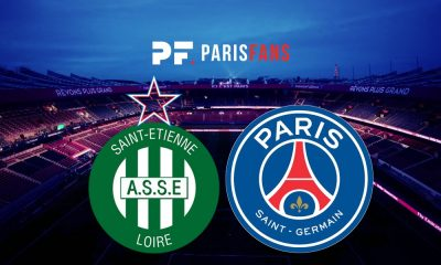 AS Saint-Etienne/PSG - Les équipes officielles : Pastore titulaire en attaque, Cavani sur le banc