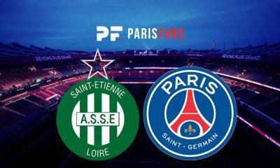 AS Saint-Etienne/PSG - Le groupe stéphanois avec 20 joueurs
