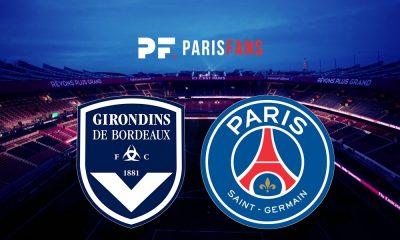 BordeauxPSG - Les équipes officielles :